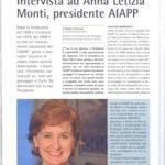 """""""Intervista ad Anna Letizia Monti, presidente AIAPP"""","""