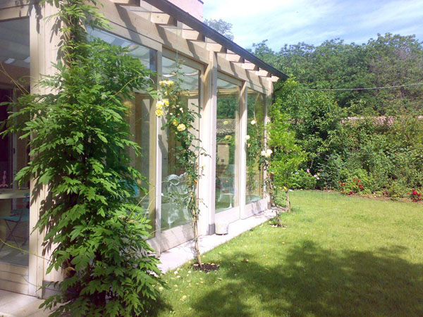 Giardino collinare a stanze anna letizia monti - Progetto giardino privato ...
